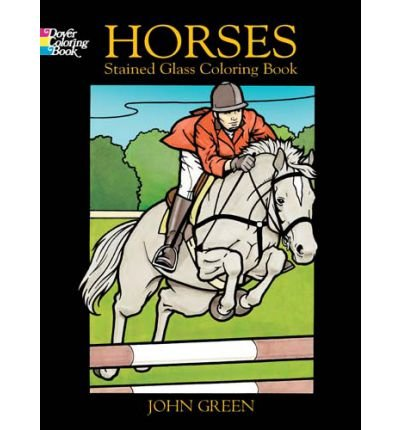 Horses Stained Glass Coloring Book (8888846824) by John Green