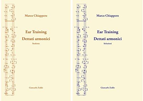9788888849591: Ear Training - Dettati armonici. 2 volumi indivisibili con CD allegato