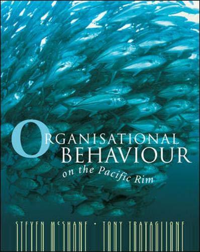 9788888893655: Organisational Behaviour on the Pacific Rim