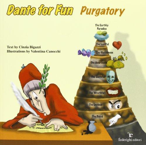 9788889159460: Dante for fun. The Purgatory