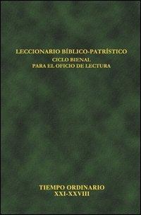 9788889227978: Leccionario bíblico-patrístico. Ciclo bienal para el oficio de lectura: 7
