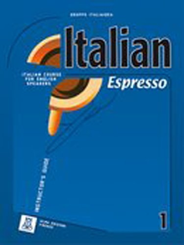 9788889237304: Italian Espresso: Teacher's Guide + CD-Rom 1 (Italian Edition)