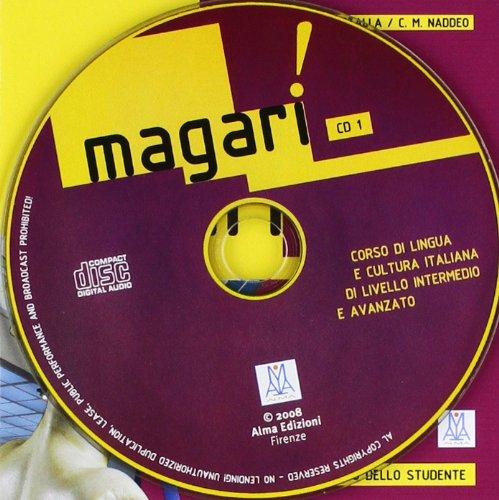 9788889237939: Magari CD : corso di lingua e cultura italiana di livello intermedio e avanzato