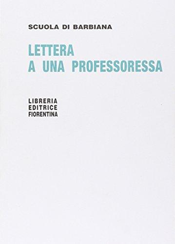 Lettera a una professoressa: Milani, Lorenzo