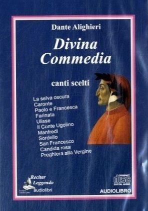9788889352175: Divina Commedia canti scelti, 1 Audio-CD