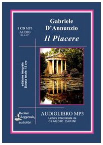 9788889352243: Il piacere. Audiolibro. CD Audio formato MP3. Ediz. integrale