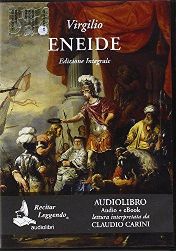 Eneide. Audiolibro. CD Audio formato MP3: Publio Virgilio Marone