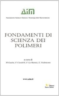9788889362907: Fondamenti di scienza dei polimeri