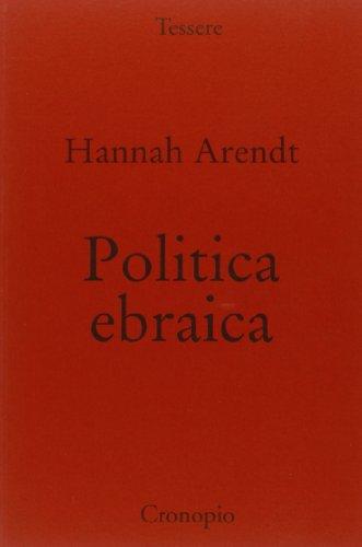 Politica ebraica (8889446749) by Hannah Arendt