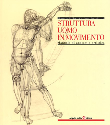 9788889527443: Struttura uomo in movimento. Manuale di anatomia artistica