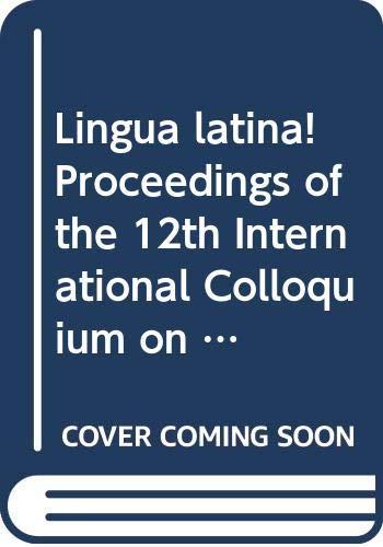 Papers on grammar. Vol. 9, 1-2: Latina: Calboli, Gualtiero (ed.):