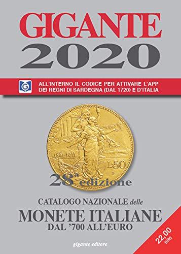 9788889805220: Gigante 2020. Catalogo nazionale delle monete italiane dal '700 all'euro