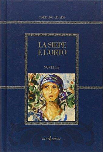La siepe e l'orto.: Alvaro, Corrado
