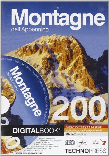 9788890038242: Montagne dell'Appennino. Con CD-ROM