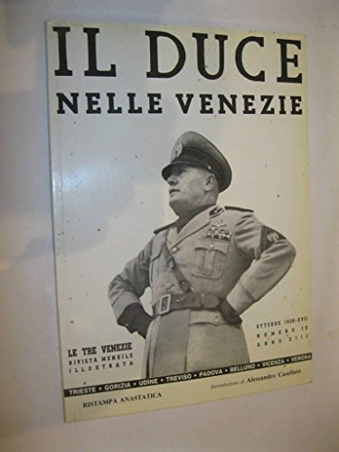 9788890050978: Il duce nelle Venezie