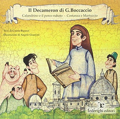 9788890070570: The Decameron / Calandrino and the Stolen Pork: Costanza and Martuccio
