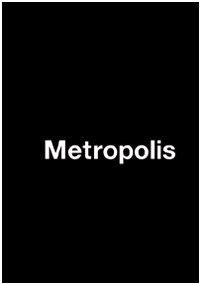 9788890280801: Metropolis. Ediz. italiana, tedesca, inglese e francese