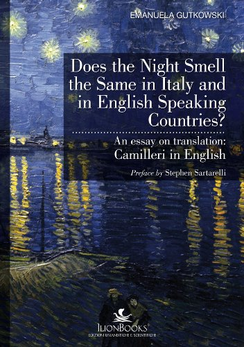 9788890362613: Does the Night Smell the Same in Italy and in English Speaking Countries?: An Essay on Translation: Camilleri in English (Translation Studies)