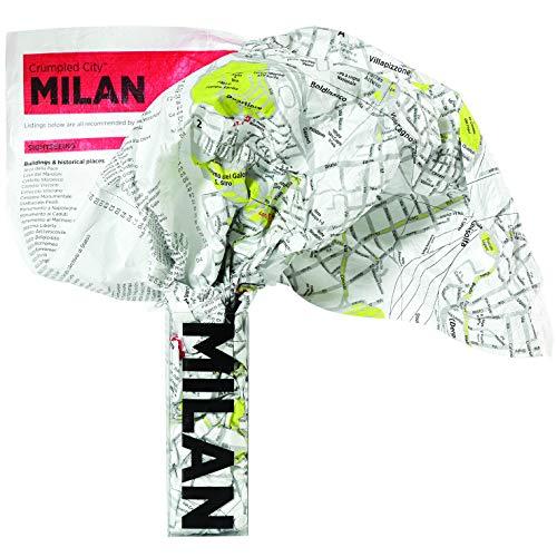 9788890426476: Crumpled City Map-Milan (Crumpled City Maps)