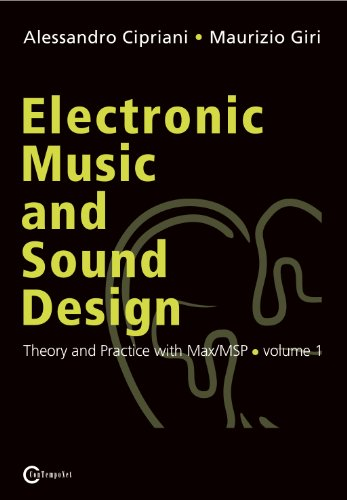 9788890548406: Electronic Music and Sound Design - Theory and Practice with Max/MSP - volume 1