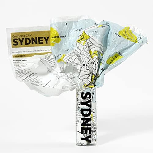 9788890573248: Crumpled City Map-Sydney