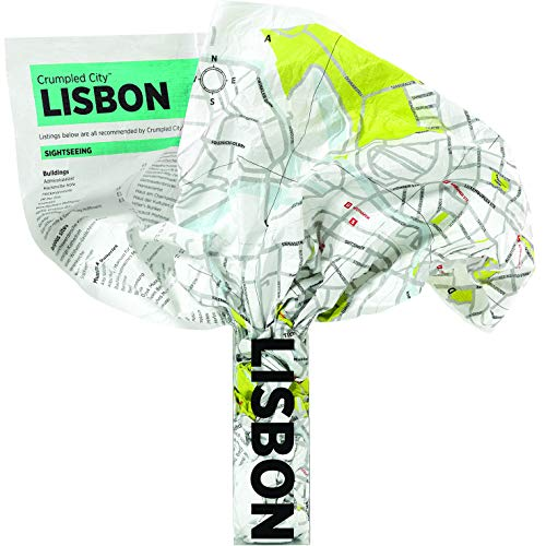 9788890573255: Lisbon Crumpled City Map (Crumpled City Maps)