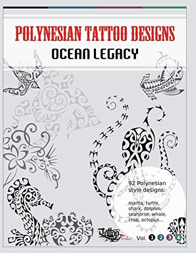 9788890601668: Polynesian Tattoo Designs: Ocean Legacy (TT Design Books)