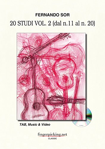 9788890827150: Fernando Sor: Studies Vol. 2 (from 11 to 20)