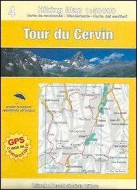 9788890833403: Tour du Cervin e Grande Balconata del Cervino. Con carta escursionistica. Ediz. multilingue (Hiking maps)