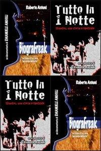 9788890884115: Tutto in 1 notte. BiograFreak. Con DVD