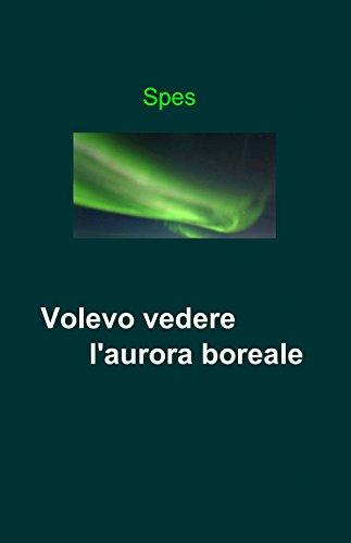 9788891054357: Volevo vedere l'aurora boreale