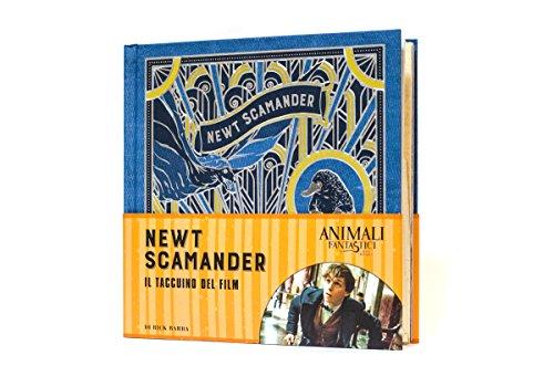 9788891222220: Animali fantastici e dove trovarli. Newt Scamander. Il taccuino del film. Ediz. a colori [ Fantastic Beasts and Where to Find Them: Newt Scamander: A Movie Scrapbook ] (Italian Edition)