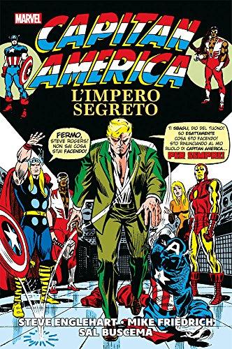 9788891230409: L'impero segreto. Capitan America