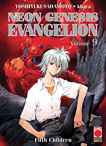 9788891289230: Neon Genesis Evangelion. Fifth children (Vol. 9)
