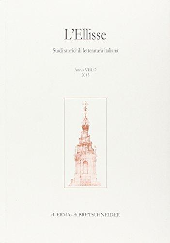 L'Ellisse, 8/2 - 2013: Studi storici di: Russo, Emilio