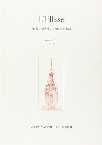 L'Ellisse, 8/1 - 2013: Studi storici di: Russo, Emilio
