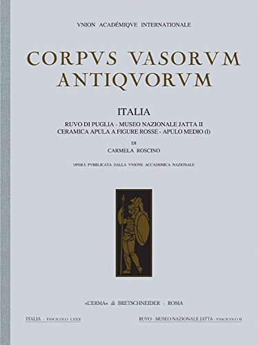 Corpus vasorum antiquorum, Italia 80 : Ruvo: Roscino,Carmela