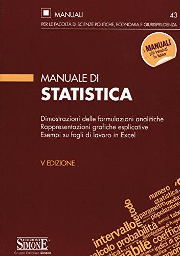 Manuale di statistica: AA.VV.