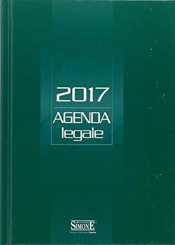 9788891409911: Agenda legale 2017 verde. Ediz. minore