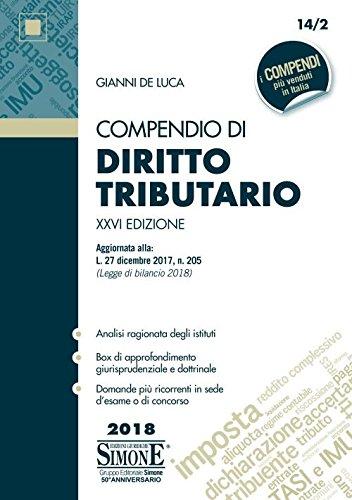 Compendio di diritto tributario: Gianni De Luca