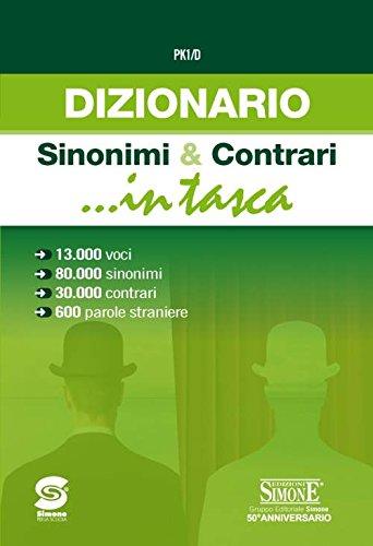 9788891417848: Dizionario dei sinonimi e contrari
