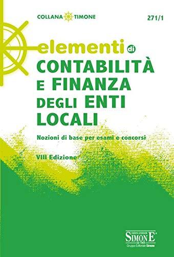 9788891422477: Elementi di contabilità e finanza degli enti locali