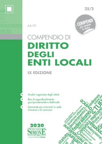 9788891424211: Compendio di diritto degli enti locali