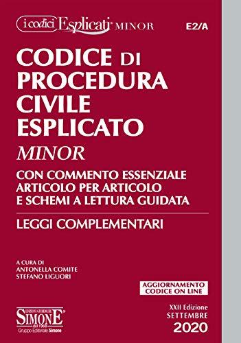 9788891425850: Codice di procedura civile esplicato. Ediz. minor