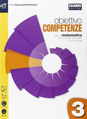 9788891503961: Obiettivo competenze. Quaderno. Per la Scuola media. Con espansione online: 3