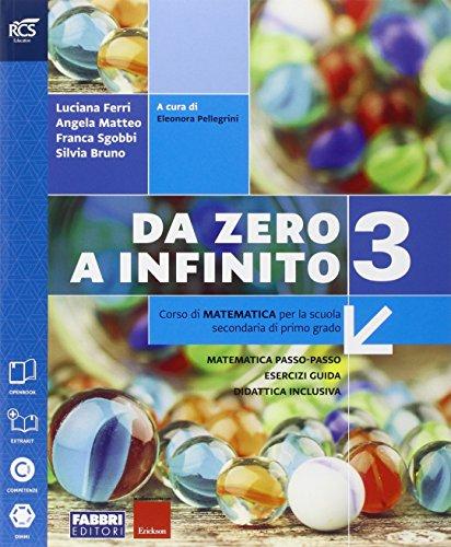 9788891519269: Da zero a infinito. Extrakit-Openbook-Quaderno. Per la Scuola media. Con e-book. Con espansione online: 3
