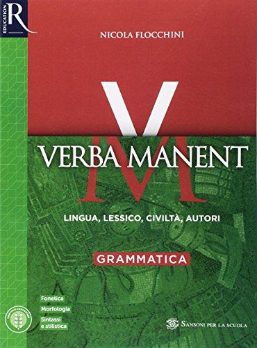 9788891526595: Verba manent. Per le Scuole superiori. Con e-book. Con 2 espansioni online: 1