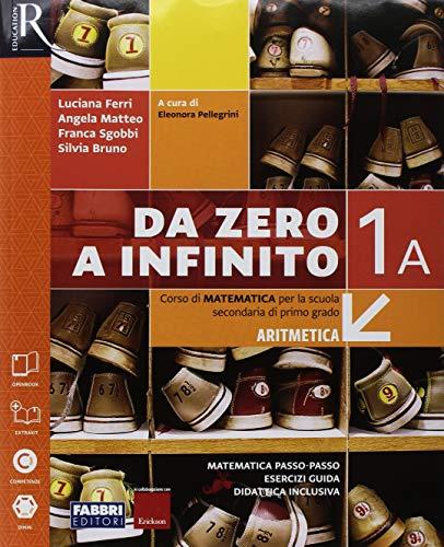 9788891529282: Da zero a infinito. Extrakit. Per la Scuola media. Con e-book. Con 2 espansioni online. Con 2 libri: Quaderno-INVALSI: 1A-1B