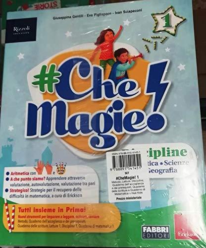 9788891541451: #CheMagie! Per la 1ª classe elementare. Con e-book. Con espansione online