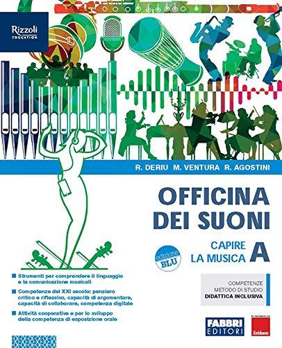 9788891543677: Officina dei suoni. Per la Scuola media. Con e-book. Con espansione online. Con DVD-ROM (Vol. A-B-C)